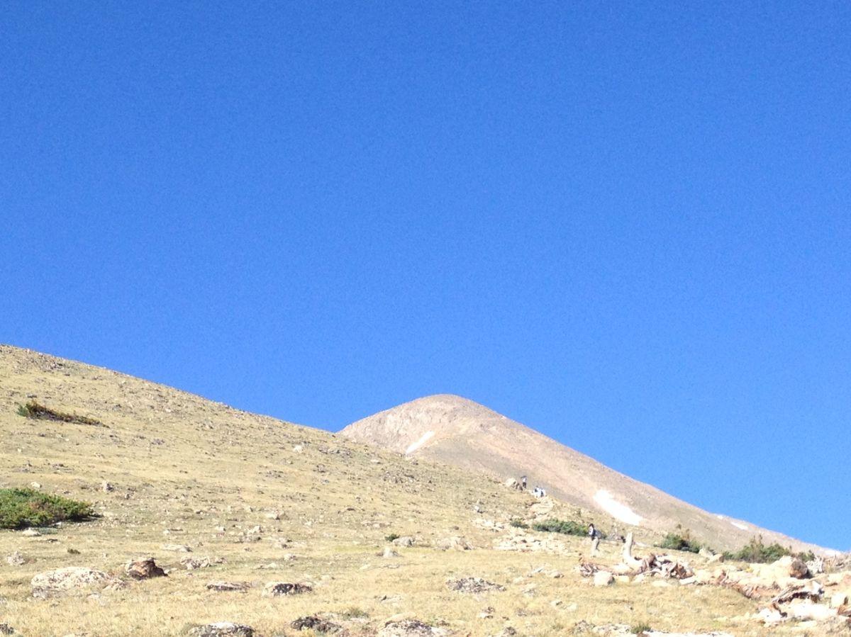 Top of Mount Elbert