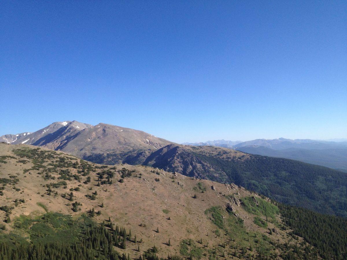 Mount Massive visto desde Mount Elbert
