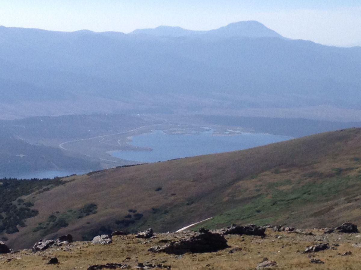 Uno de los Twin Lakes