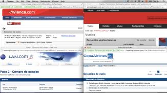 Resultados de vuelos en escapar.com.co