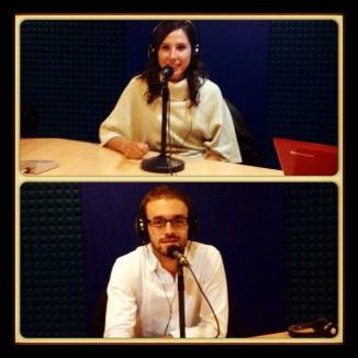 Annie y Luis en Radio Nacional