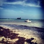 El mar de San Andres Rockey Cay