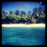 La playa de San andres