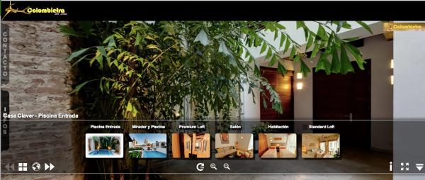 Imagen del Tour virtual del hotel Casa Claver