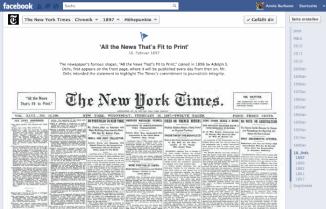 Timeline facebook